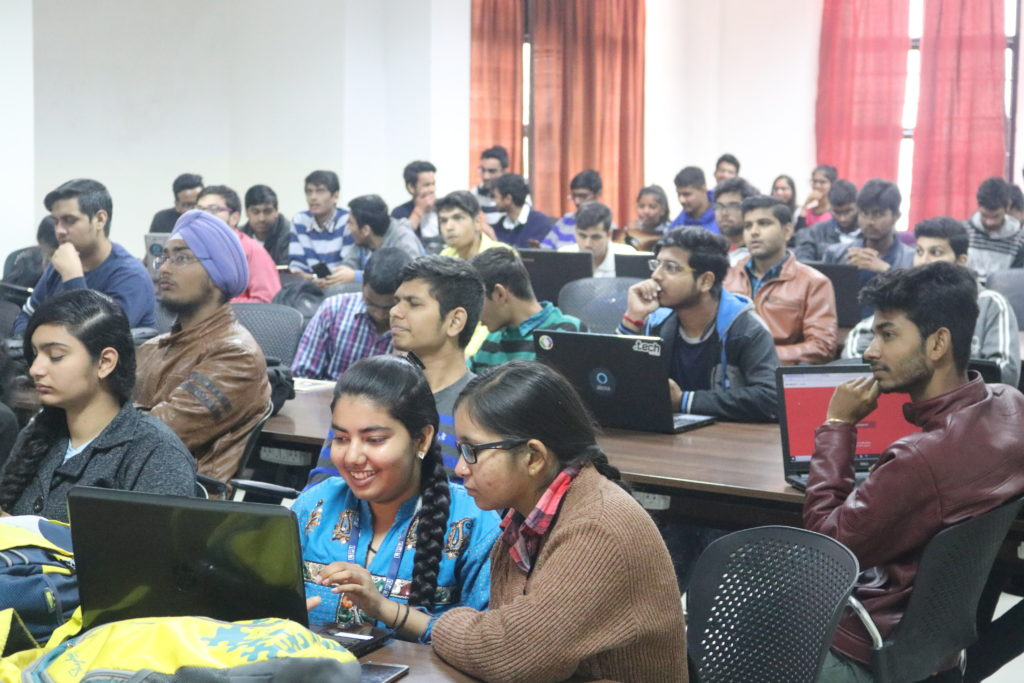 GirlScript Training for tech students
