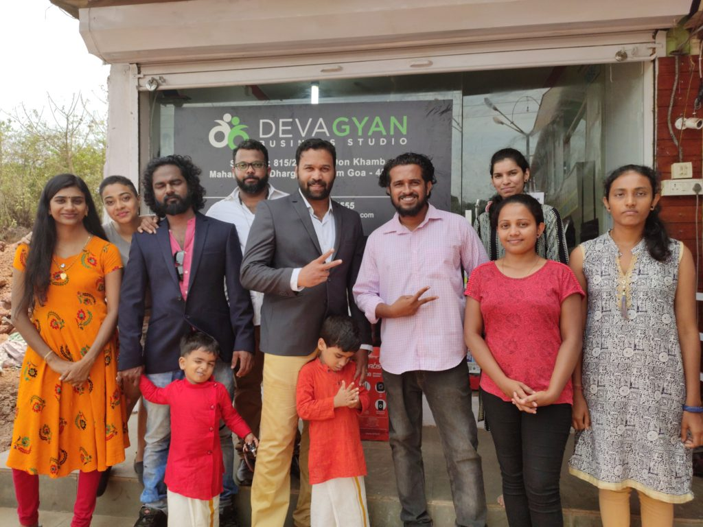 Deva Gyan Business Studio - Goa inauguration
