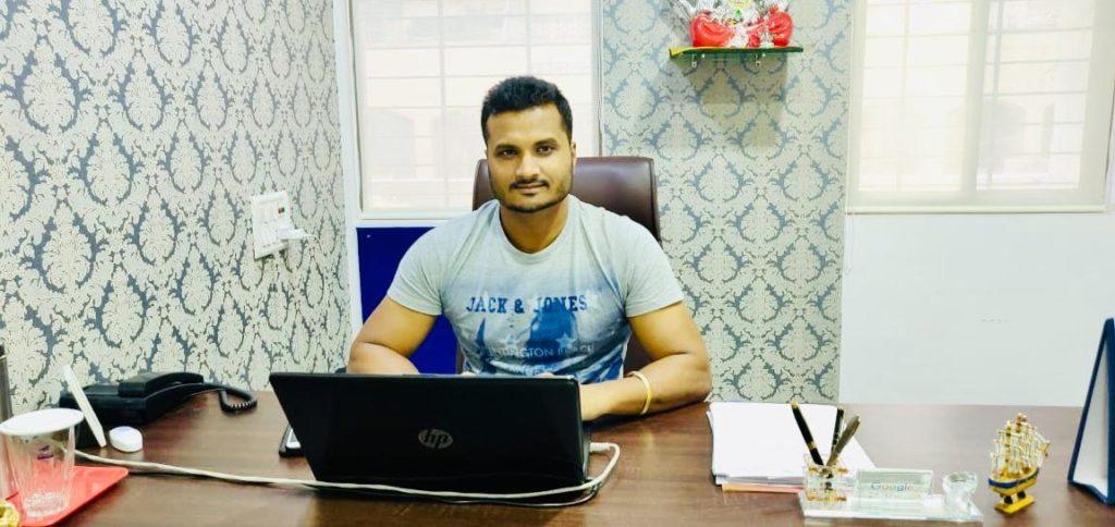 Mrityunjay Shahi - founder of Salary Dost