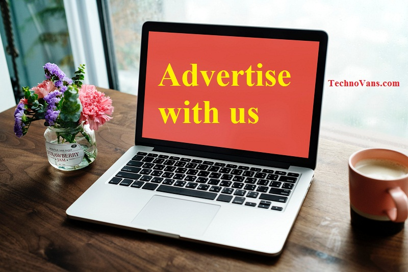 Advertise with us - TechnoVans