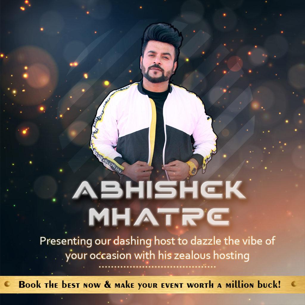 Anchor Abhishek Mhatre
