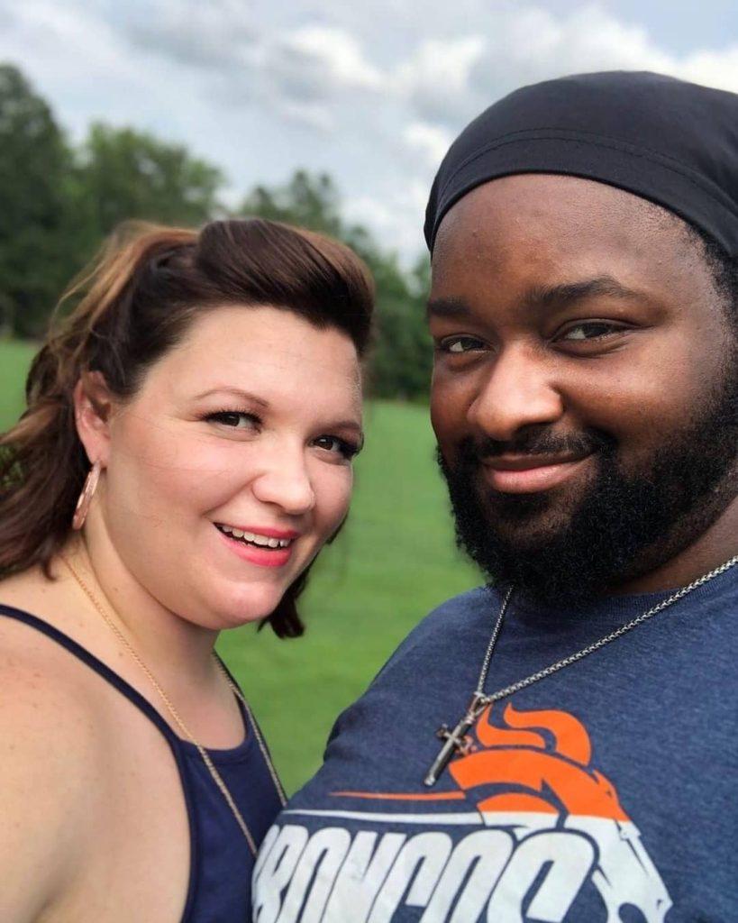 Ashlee with her boyfriend