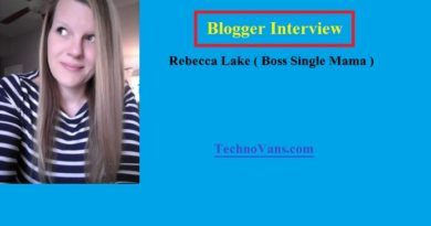 Meet Rebecca Lake and get some Blogging Tips