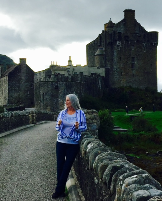 Cindy Moore in Scotland