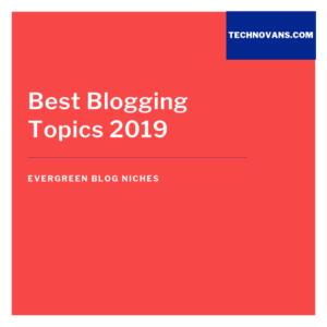 Evergreen Blog Niches