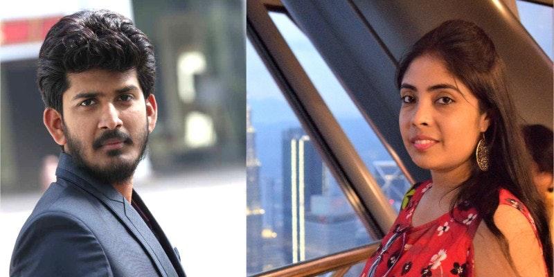 Qwerty Thoughts Co-Founders Prateek Gupta and Jasleen Khurana