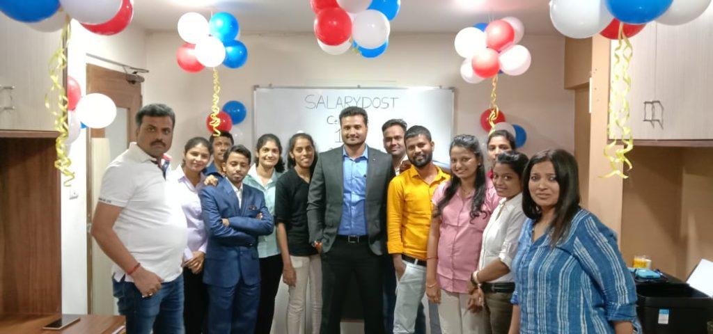 Salary Dost celebrates 1st Anniversary