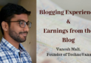 Blogging Experience and Earnings from the Blog ( Sept. 2019 )