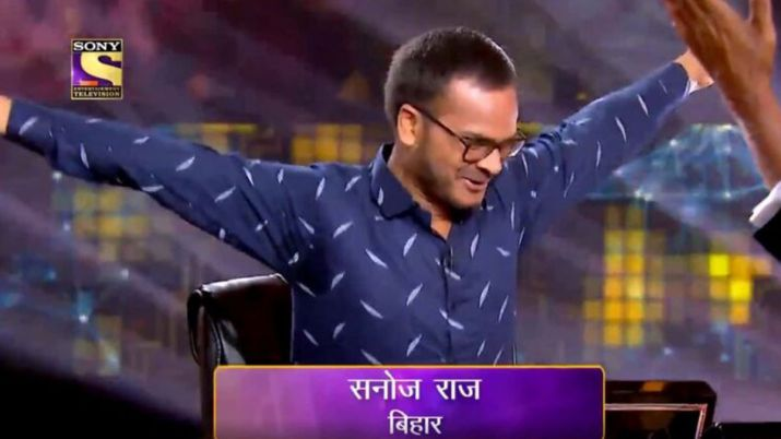 Sanoj Raj - first crorepati of KBC season 11