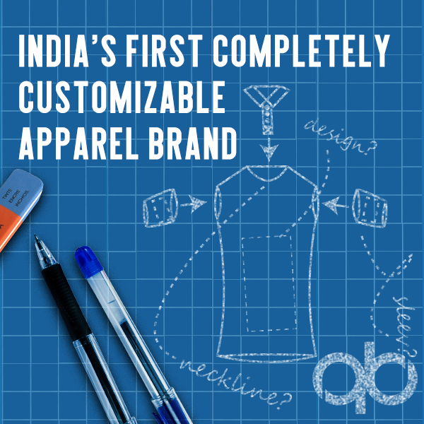 QuadB Apparels - India's First Completely Customizable Apparel Brand