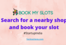 Book My Slots – Search for a nearby shop and book your slot