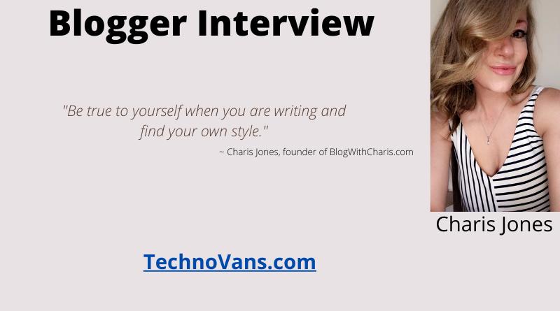 Meet Charis Jones, the founder of BlogWithCharis